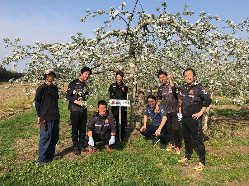 【予約販売】2020福島ユナイテッドFCのりんご