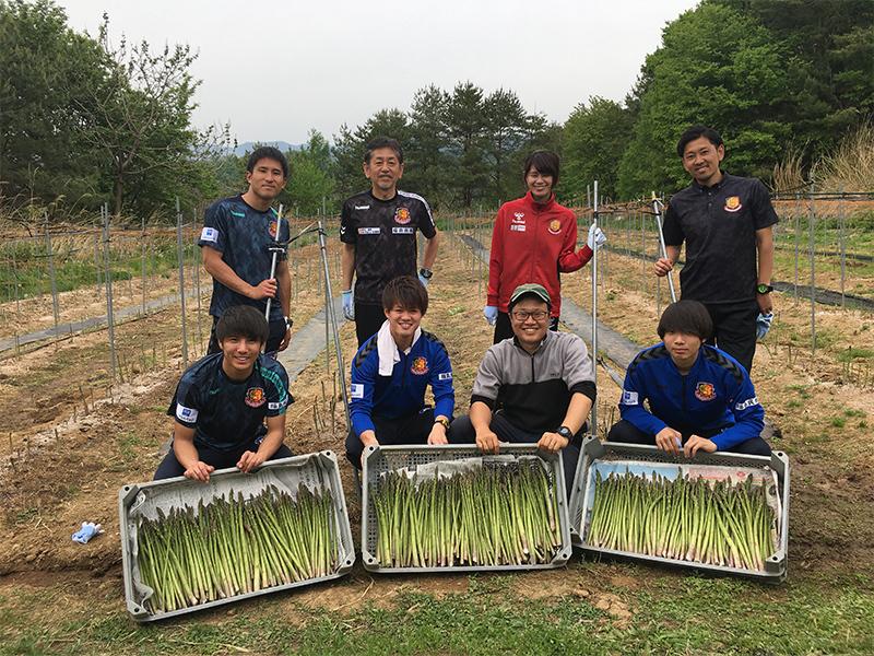 【予約販売】2020福島ユナイテッドFCのアスパラガス(夏)