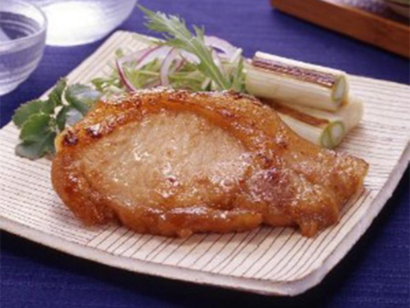肉の秋元本店_白河高原清流豚豚ロース味噌漬け